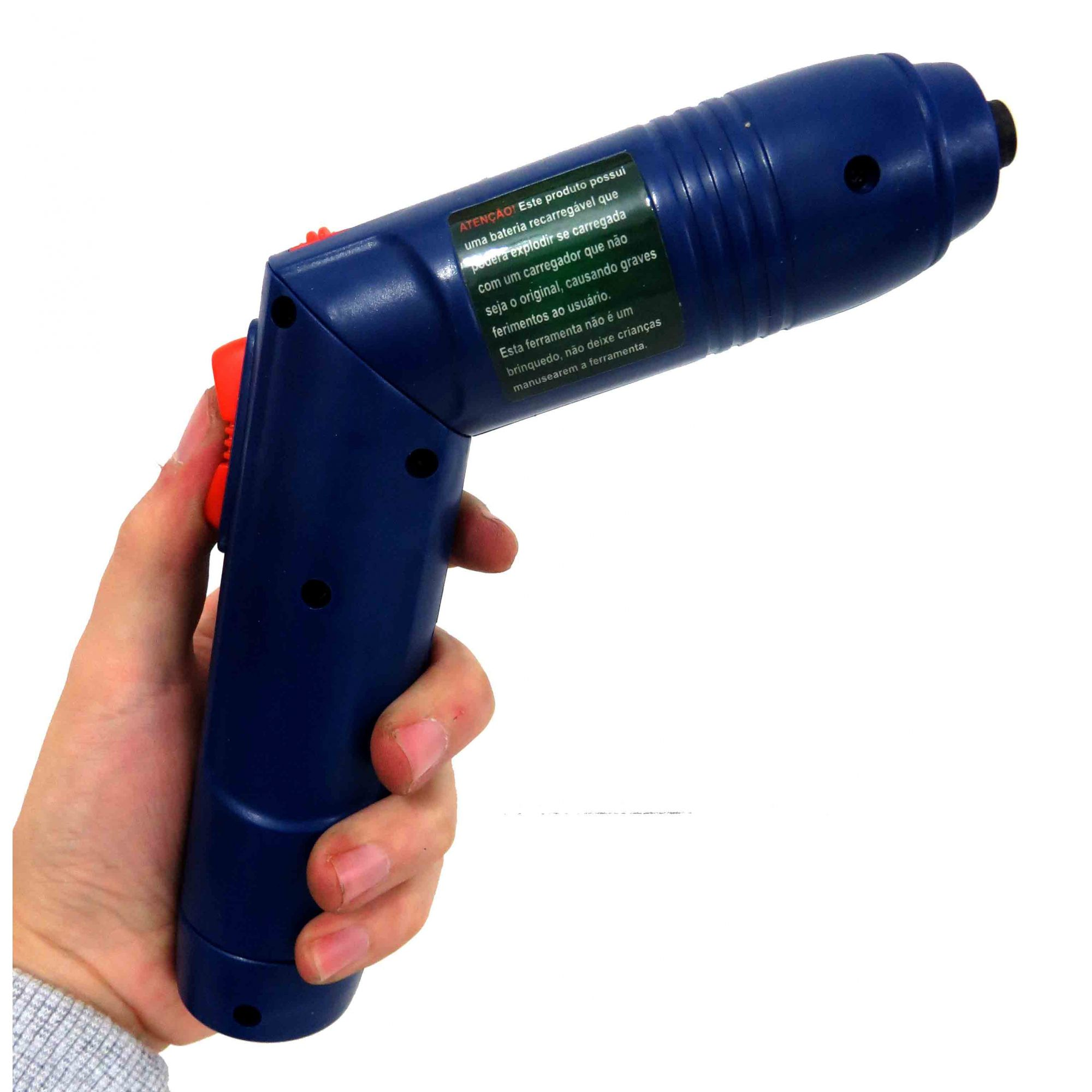 Parafusadeira Hobby A Bateria Sem Fio 3,6v 127v