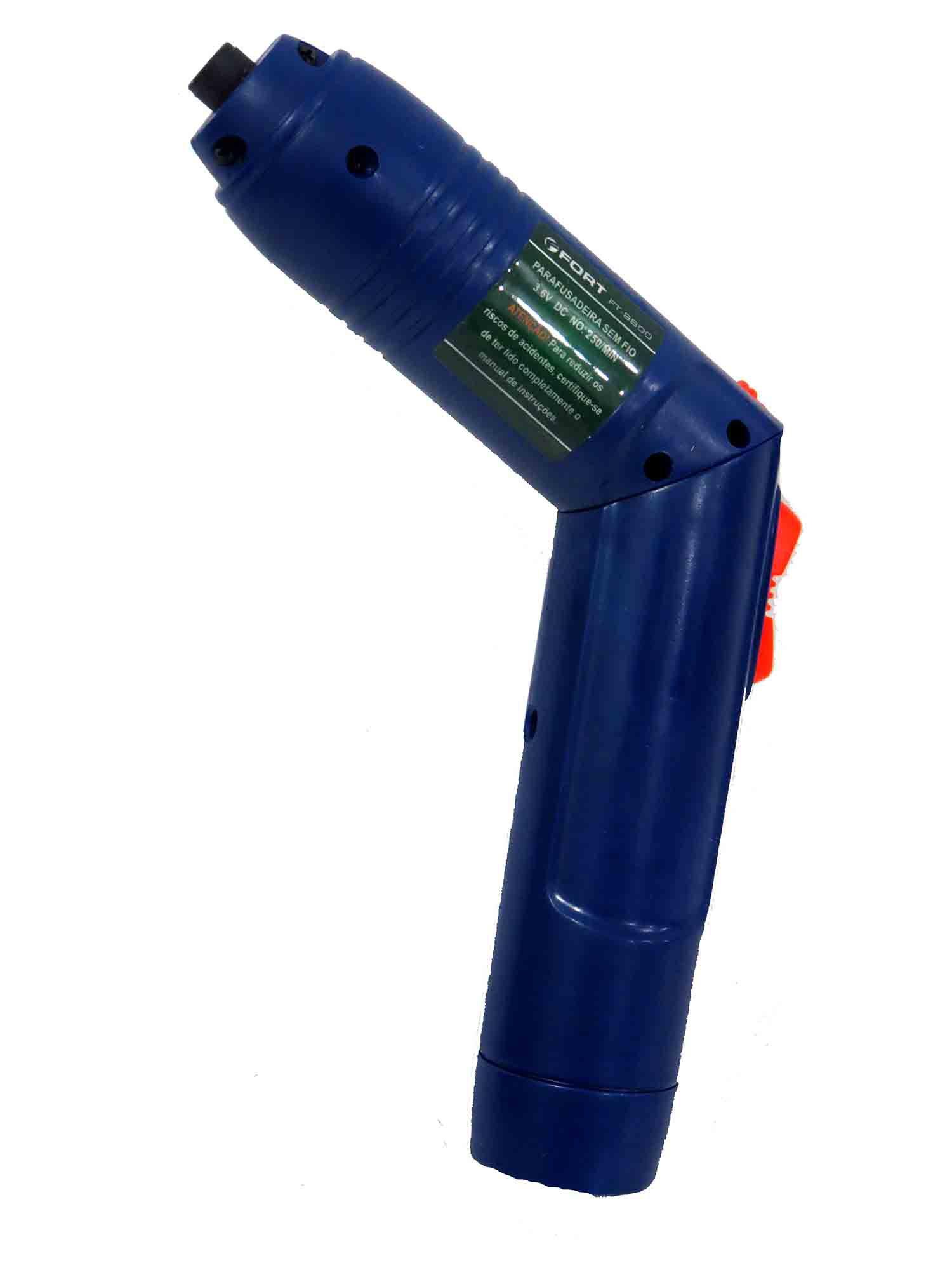 Parafusadeira Hobby A Bateria Sem Fio 3,6v 220v Fort