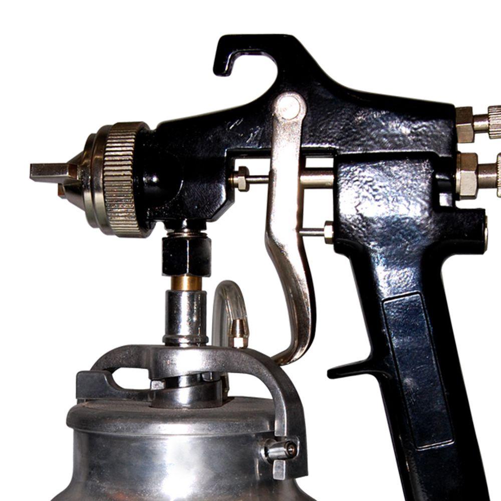 Pistola Pintura Alta Pressão Bico 2.0mm + Reparo Pistola
