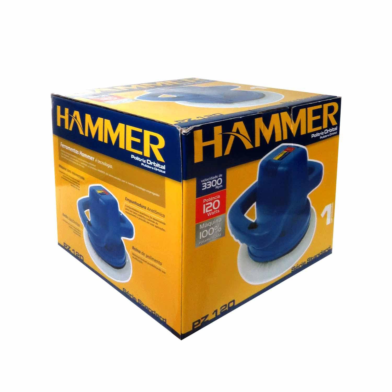 Politriz Orbital Hammer 10 Pol. 120w 3300rpm 127V 120W