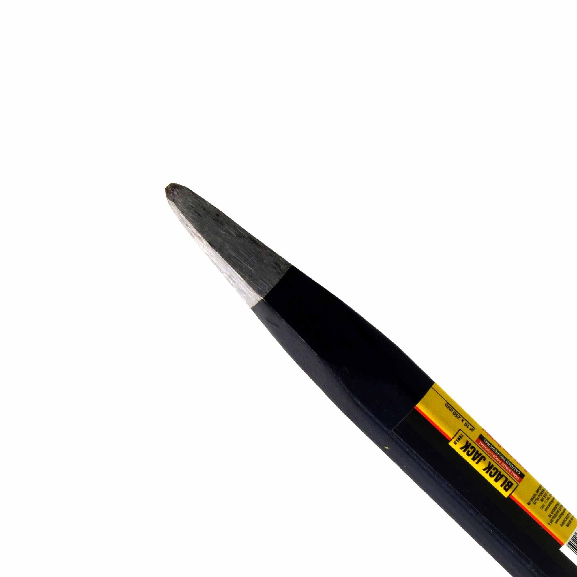 Ponteiro de Aço Forjado Com Protetor 19x250mm Black Jack