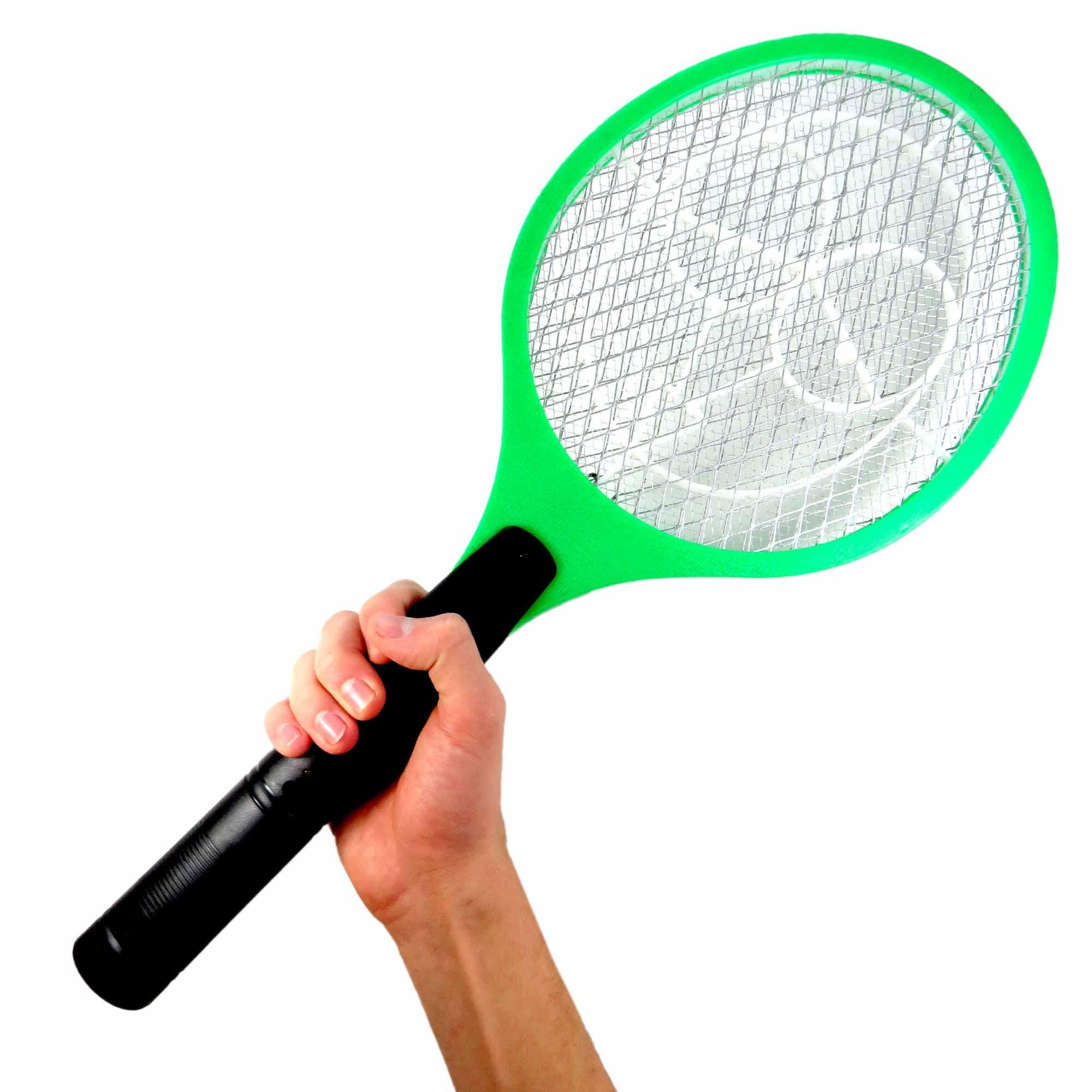 Raquete Mata Mosquito Recarregável 900088 Pleiadiano