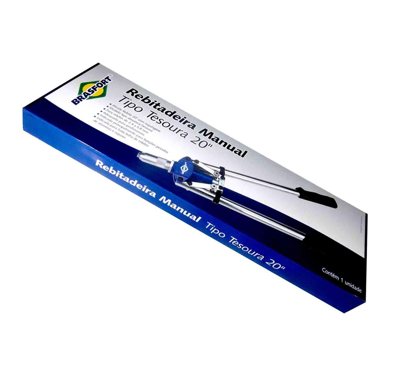 Rebitadeira Manual Vertical Com 5 Bicos 20pol 2,4 A 5,8mm