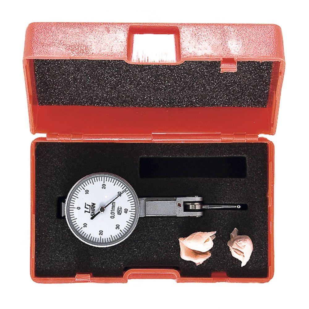 Relógio Apalpador de Alta Precisão 0,01MM 0,8MM Eda