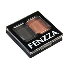 Sombra Duo Cores Combinadas Fenzza Make Up Maquiagem C2