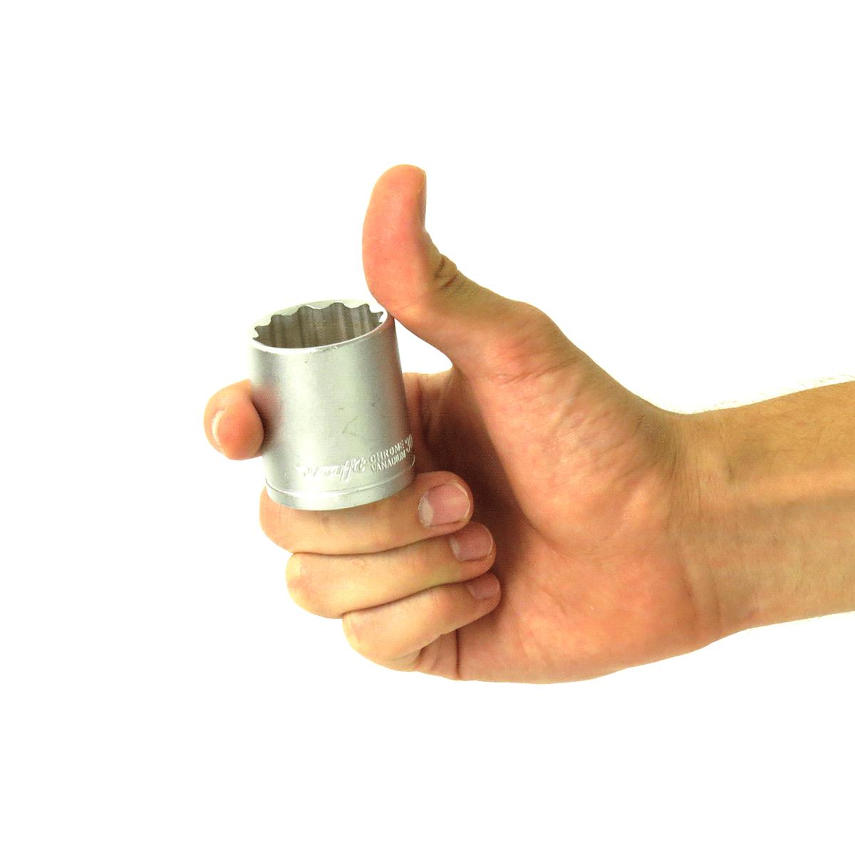 Soquete Estriado 1/2Pol x30mm- 42mm Waft