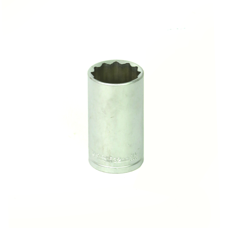 Soquete Estriado Longo 1/2Pol x32mm- 76mm Waft