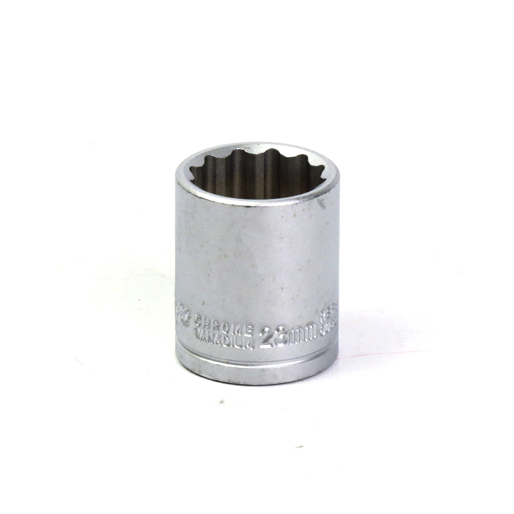 Soquete Avulso Estriado 1/2Pol x 23mm- 38mm Waft