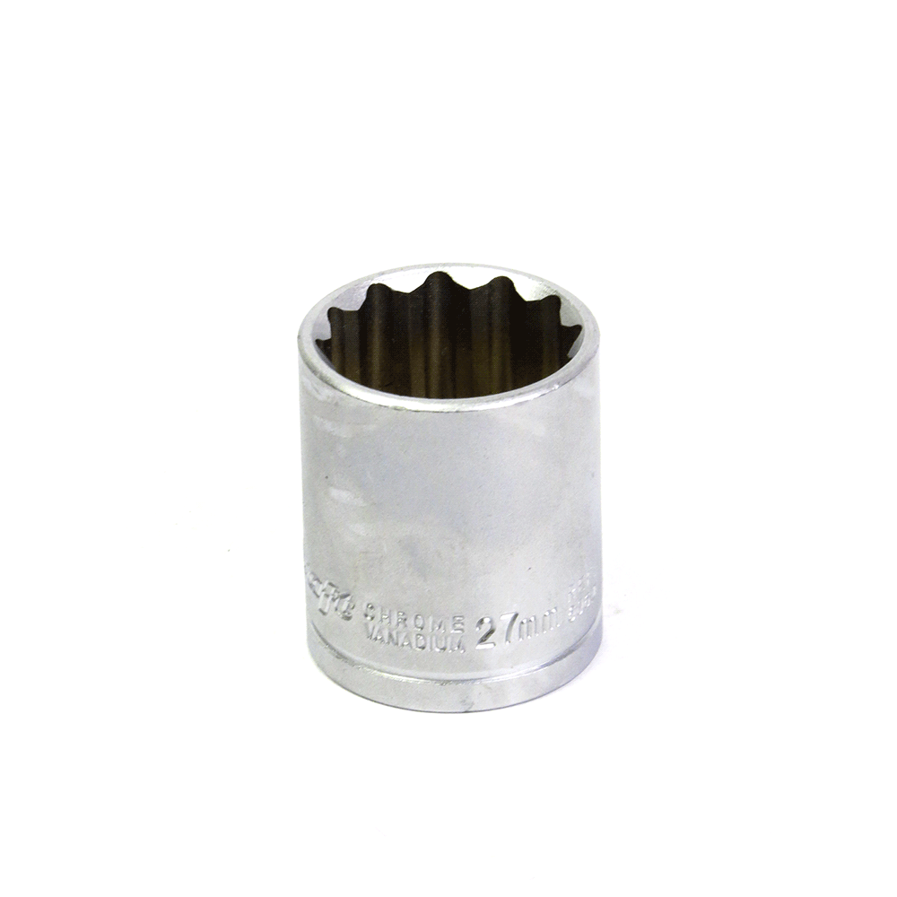 Soquete Avulso Estriado 1/2Pol x 27mm Waft