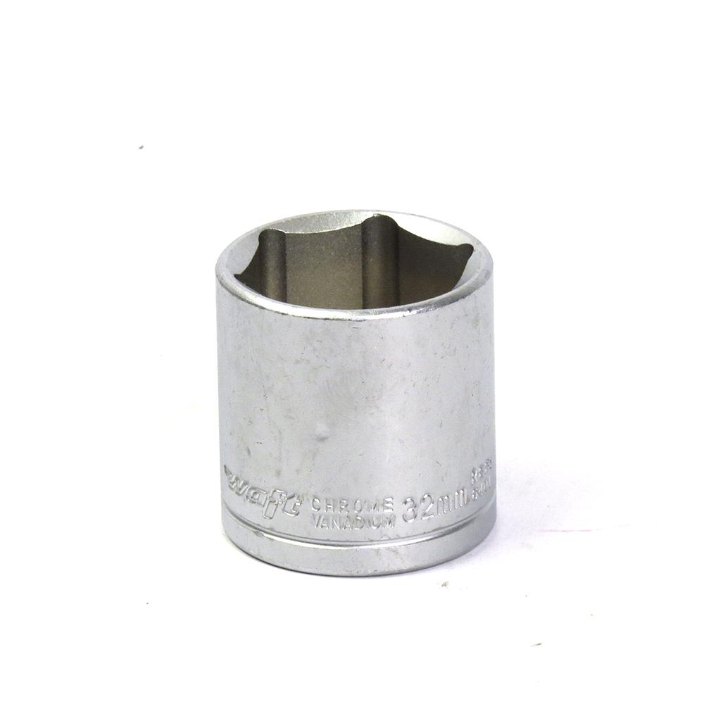 Soquete Avulso Sextavado 1/2Pol x 32mm Waft
