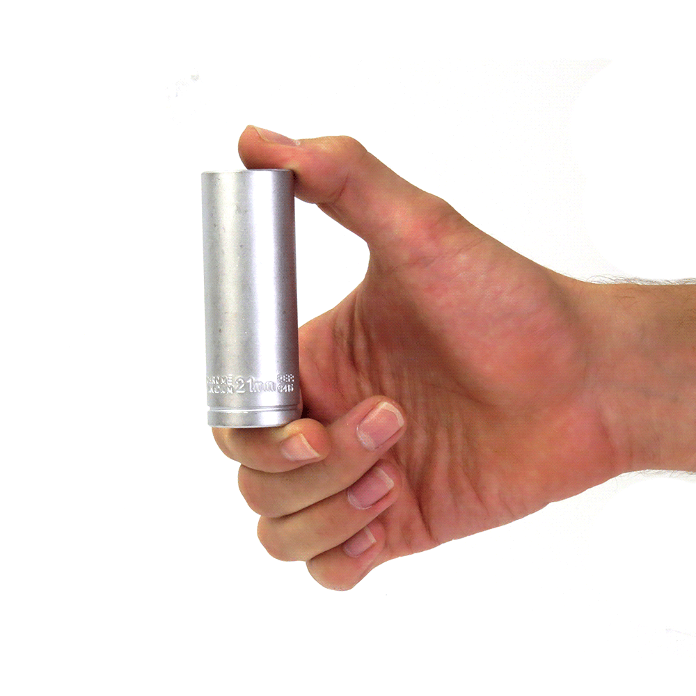 Soquete Avulso Sextavado Longo 1/2Pol x 21mm Waft