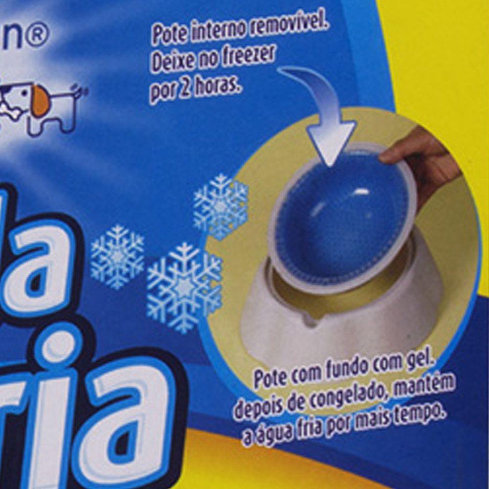 Tapete Refrescante Gelado 40x50cm + Tigela Fria Refrescante