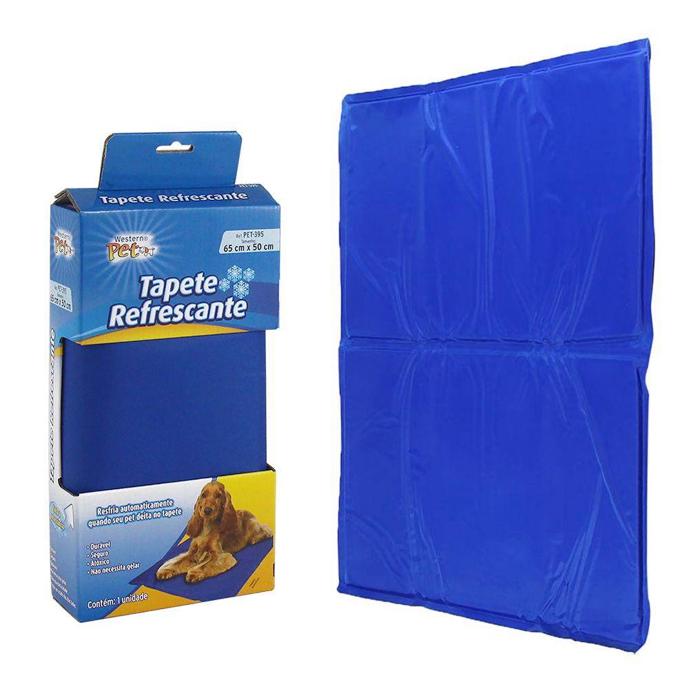 Tapete Refrescante Gelado 65x50cm + Colete Refrescante