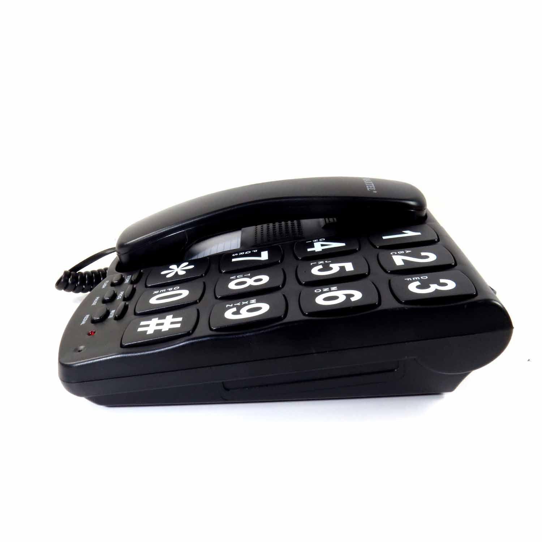 Telefone Com Fio Mesa Maxtel Com Bloqueador Chave Pulso/Tom
