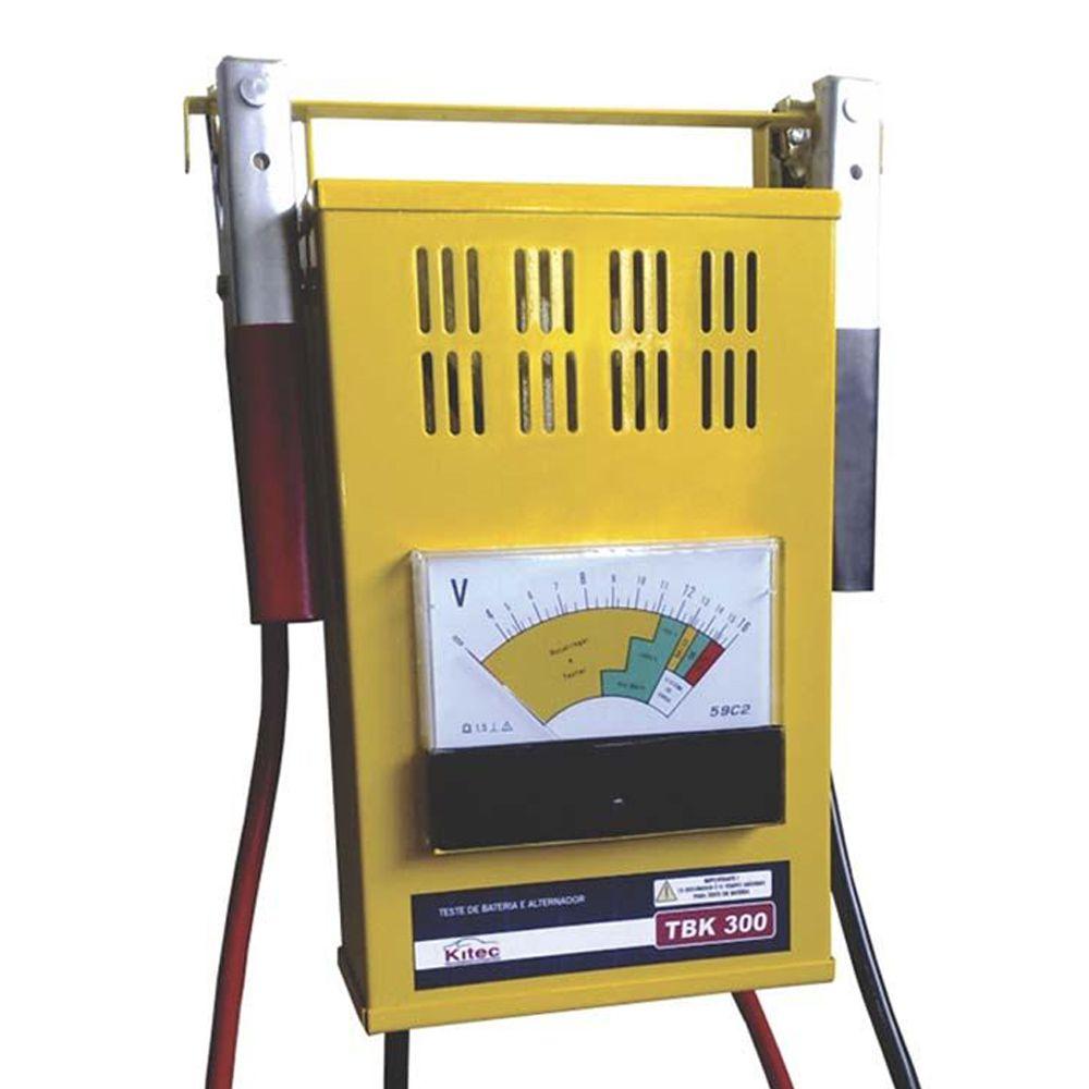 Teste de Baterias e Sistema de Carga 300 Amperes Kitec