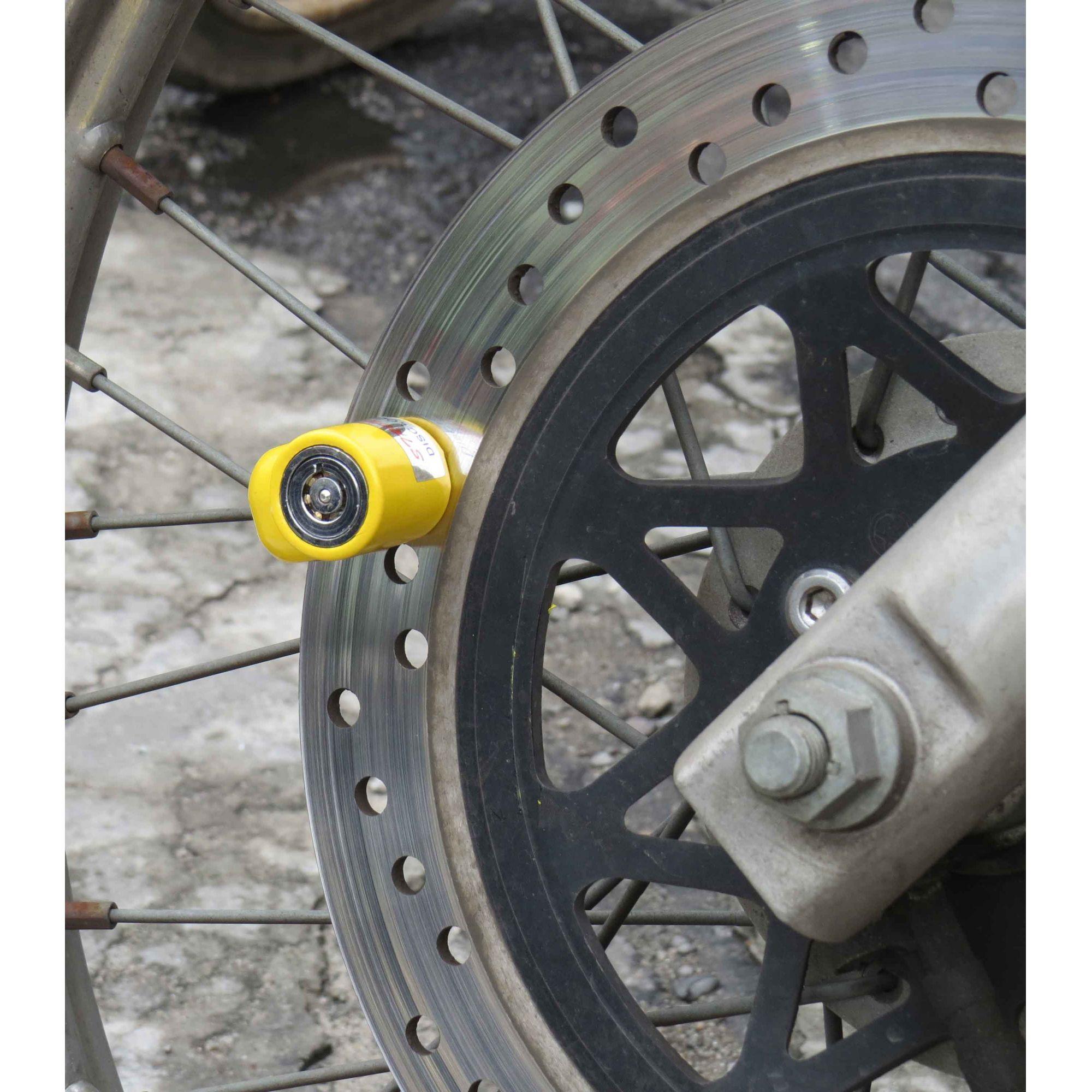 Trava Cadeado Para Freio De Disco Moto Universal 5,5mm 83205 (E)