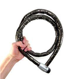Trava Cadeado De Segurança Antifurto Bike E Portão 25x1500mm