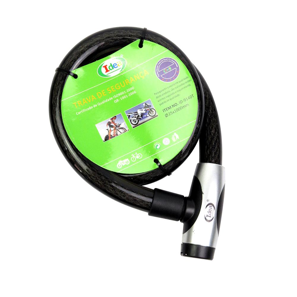 Trava De Segurança Para Moto 25x1000mm Idea Cód.ID-9140T