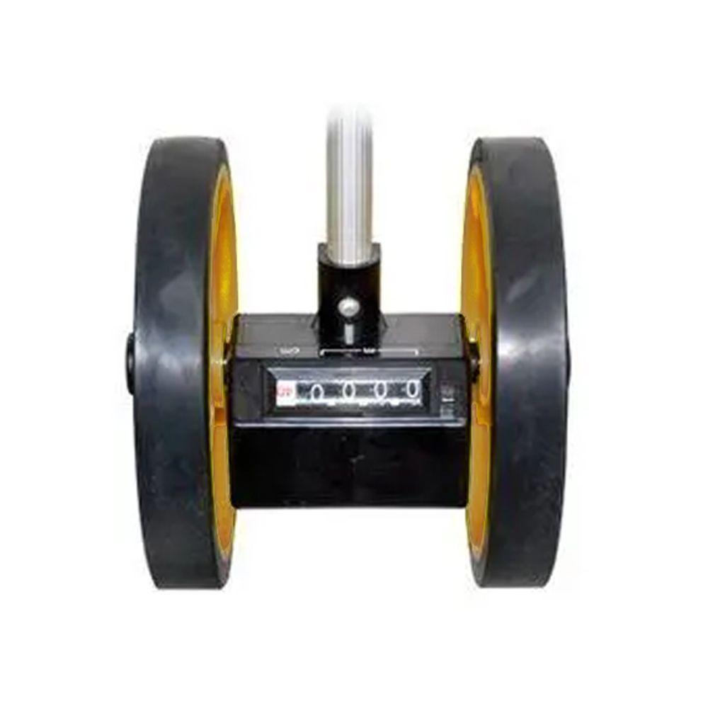 Trena Analógica 10KM Medição Por Roda Leetools