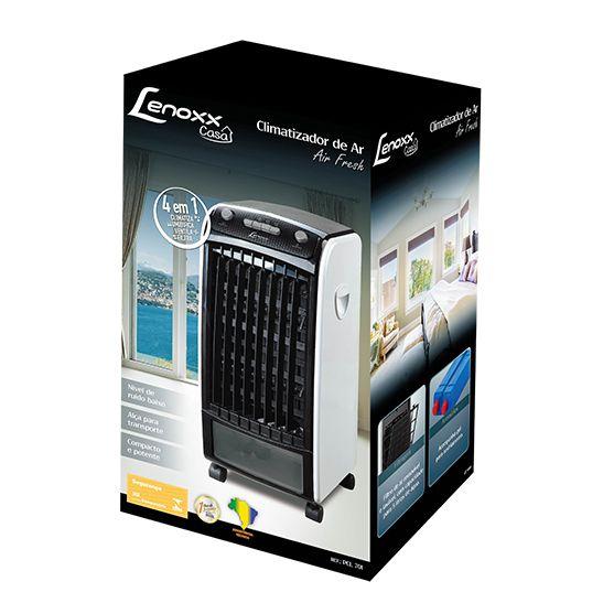 Ventilador Climatizador De Ar Air Fresh 4 Em 1 127v Lenoxx