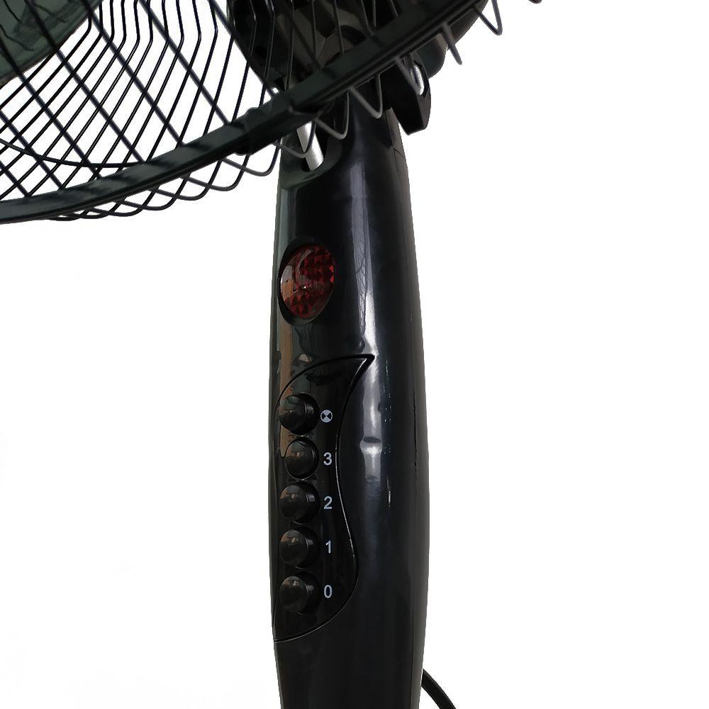 Ventilador De Coluna Pedestal Preto 127V Segma Avulso RNK