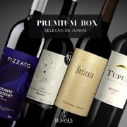 PREMIUM BOX  JUNHO 4 Garrafas