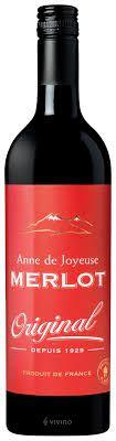 ANNE DE JOYEUSE ORIGINAL MERLOT 2016 - 750ML