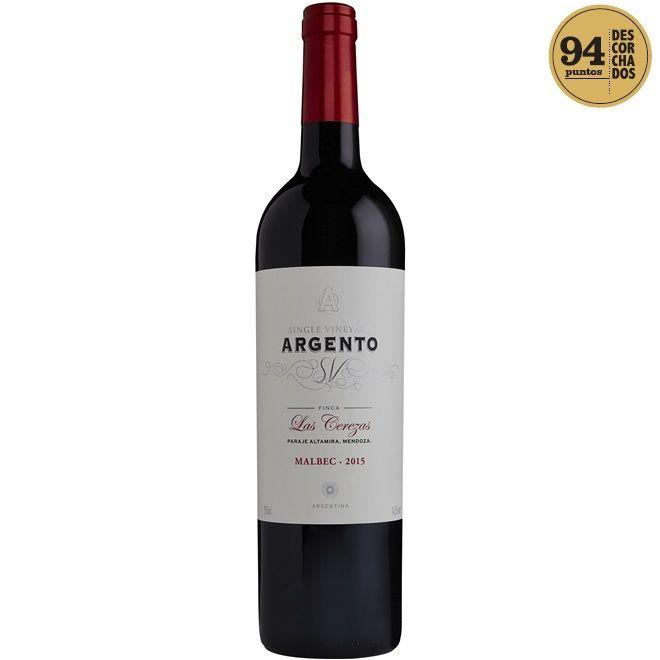 ARGENTO SINGLE VINEYARD LAS CEREZAS - 750ML