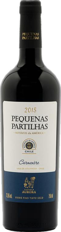 AURORA PEQUENAS PARTILHAS CARMENERE CHILE 750 ML
