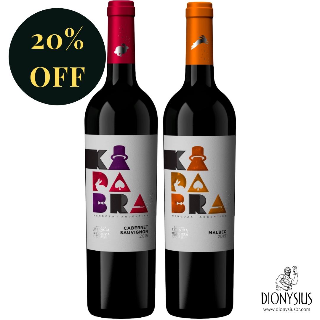 BOX KADABRA WINES | CAB SAUV + MALBEC | ARGENTINA