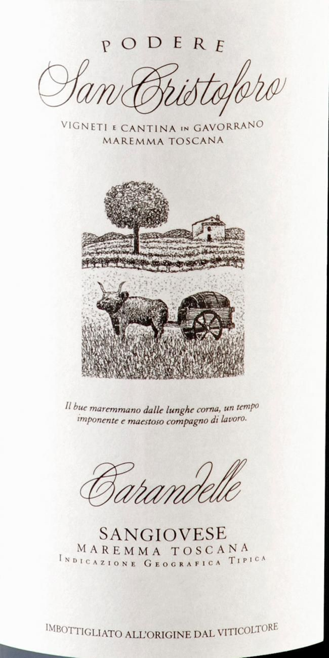 CARANDELLE SANGIOVESE MAREMMA TOSCANA - 750ML