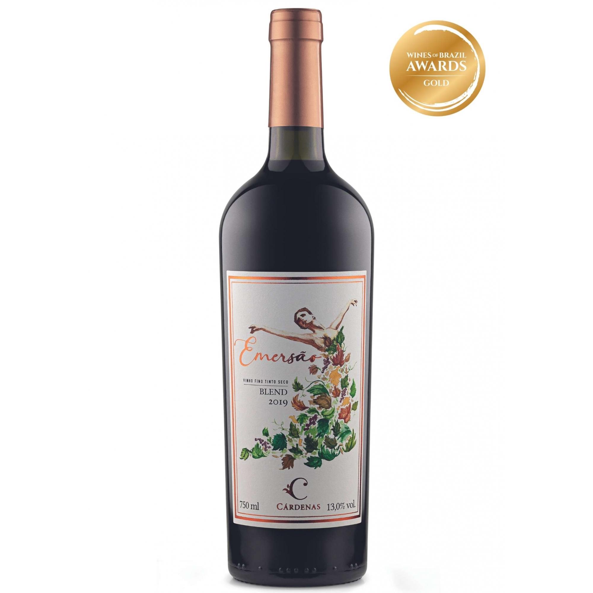 Cárdenas Vinho Tinto Emersão Blend 2019 750ml