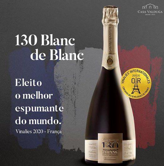 CASA VALDUGA 130 ESPUMANTE BRUT BLANC DE BLANC - 750ML