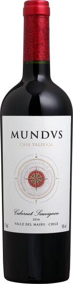 CASA VALDUGA CHILE MUNDVS CABERNET SAUVIGNON - 750ML