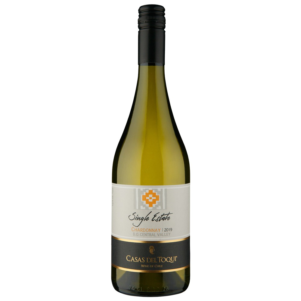 CASAS DEL TOQUI SINGLE ESTATE D.O CENTRAL VALLEY CHARDONNAY - 750 ML