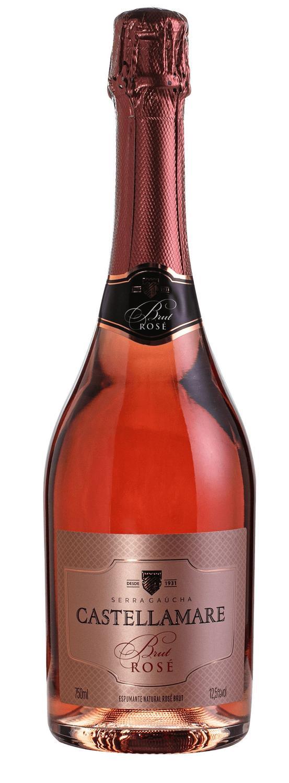 Castellamare Espumante Brut Rosé 750ml
