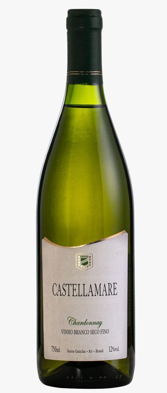 Castellamare Vinho Branco Seco Chardonnay 750ml