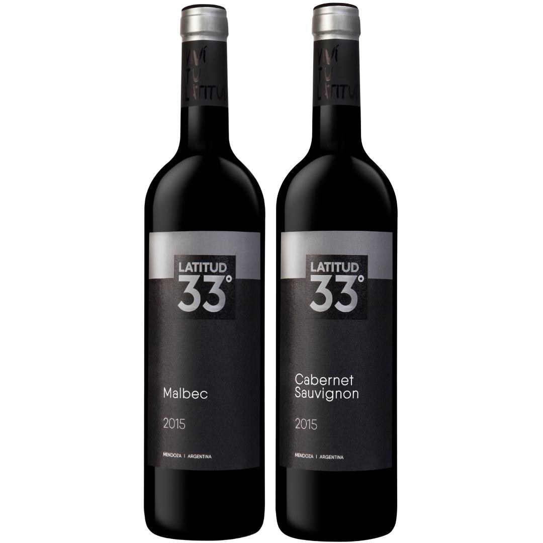 Box Latitud 33   Malbec + Cabernet Sauvignon