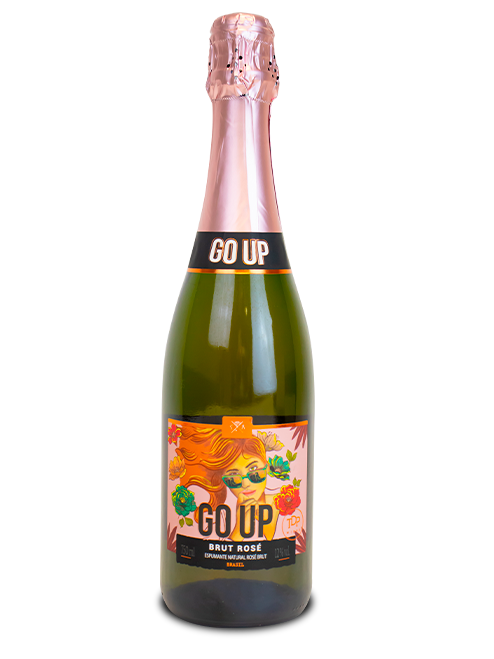 Espumante Go Up  Brut Rosé 750ml