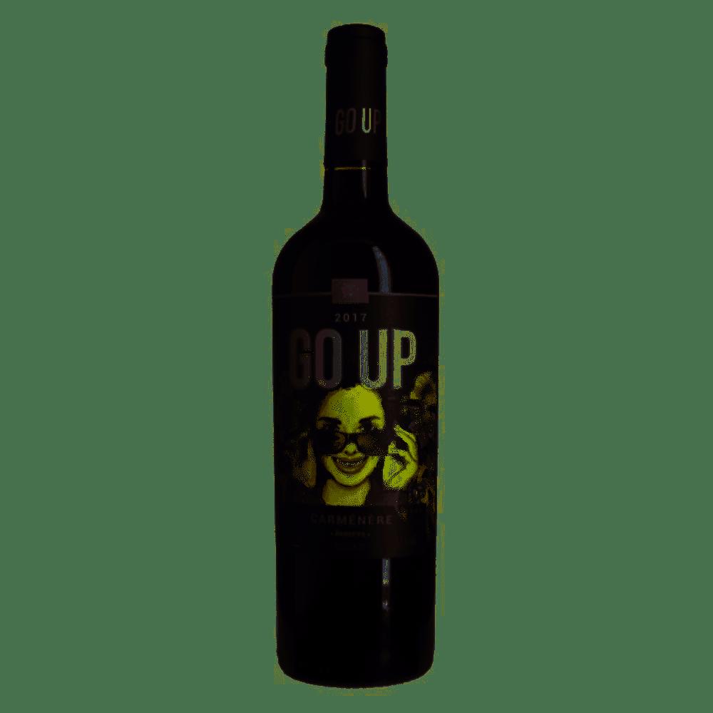 GO UP  RESERVA CARMENERE  2018 - 750ML