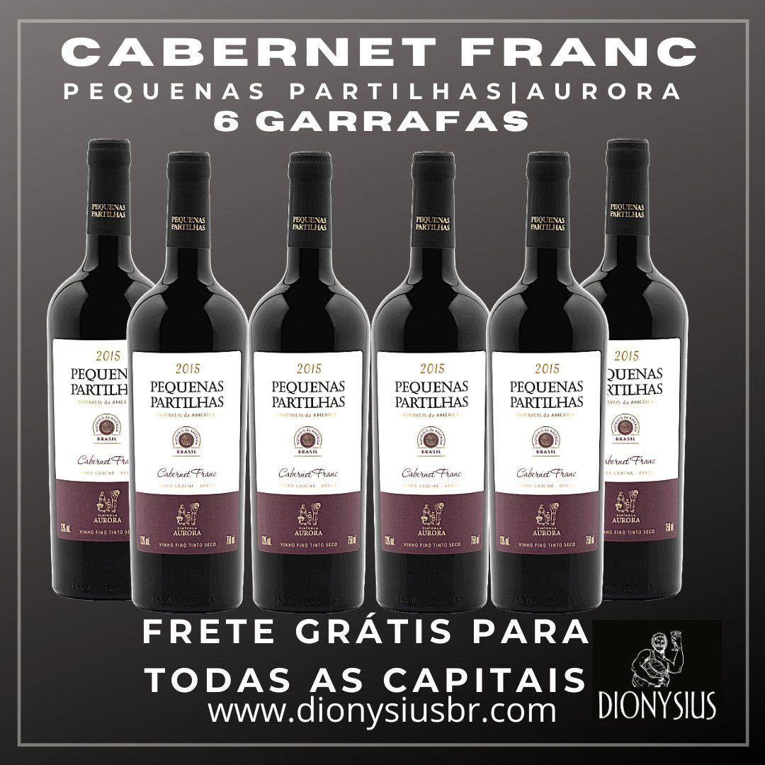 KIT PEQUENAS PARTILHAS CABERNET FRANC 6 GARRAFAS