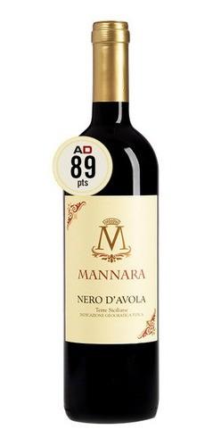MANNARA NERO D AVOLA - 750ml