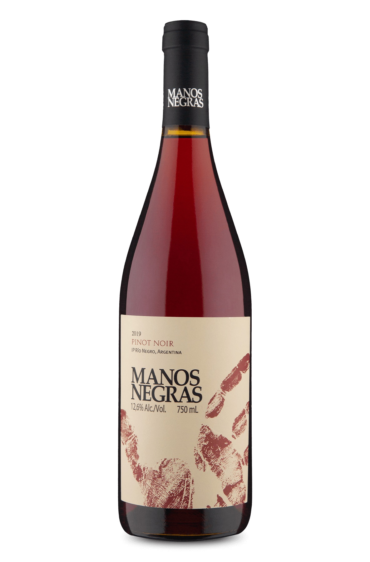 Manos Negras Pinot Noir 2019 750ml