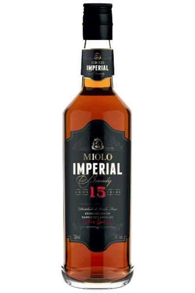 Miolo Conhaque Brandy Imperial 15 anos 750ml