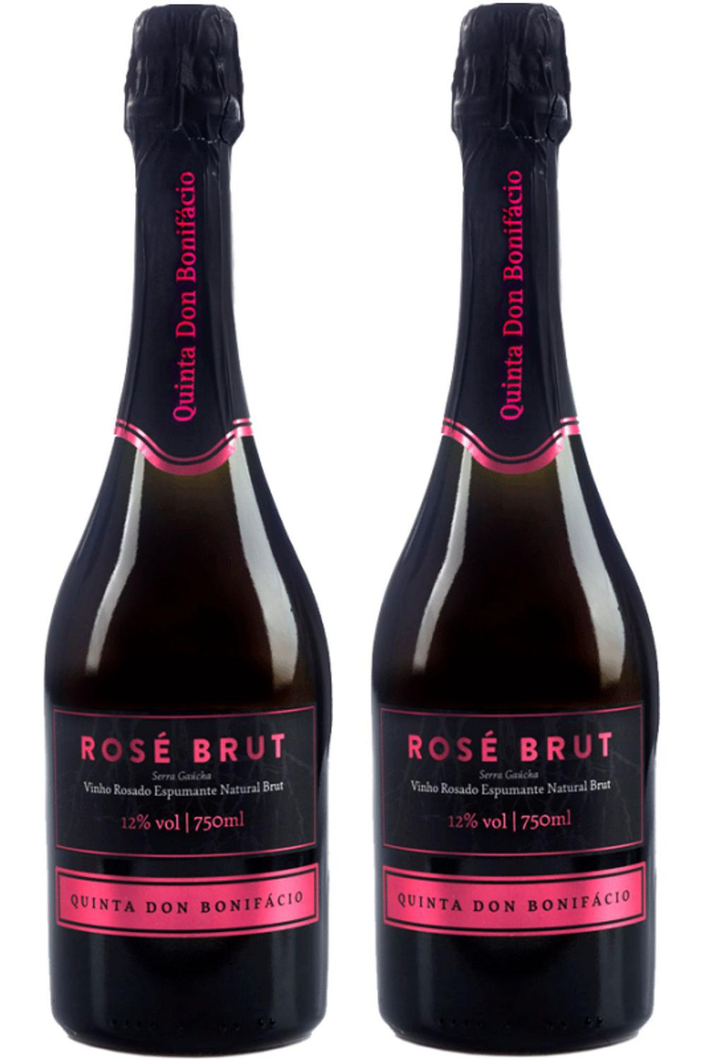 QUINTA DON BONIFACIO ESPUMANTE BRUT ROSE-750ML