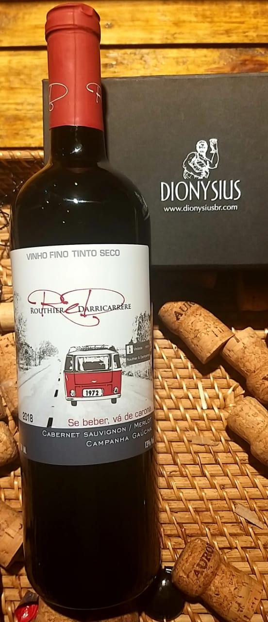 ReD Routhier e Darricarrere Cabernet Sauvignon/ Merlot 750ml