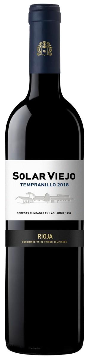 Solar Viejo Tempranillo 2018 750ml