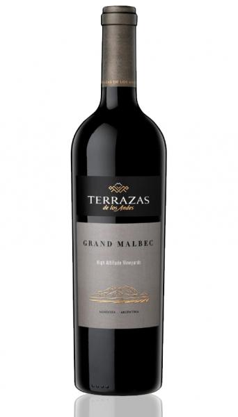 Terrazas De Los Andes Grand Malbec 2017 750ml