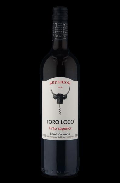 Toro Loco D.O.P. Utiel-Requena Tinto Superior 2019 750ml