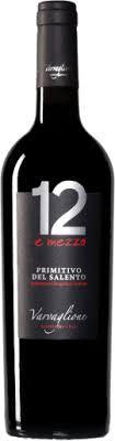 VARVAGLIONE - 12 E MEZZO - PRIMITIVO DEL SALENTO IGP - TINTO 750 ML